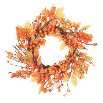 Artificial Autumn Berry Wreath