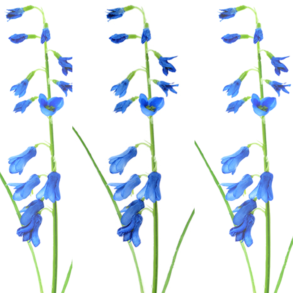Artificial single bluebell x3 stems spring flowers bluebells artificial single bluebell x3 stems spring flowers bluebells shelf edge mightylinksfo