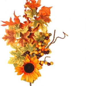 artificial-autumn-leaves-sunflower-stem