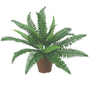 artificial-boston-fern-plant-green