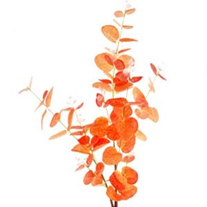 artificial-eucalyptus-spray-autumn-orange