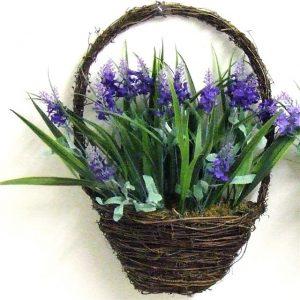 artificial-lavender-basket-purple