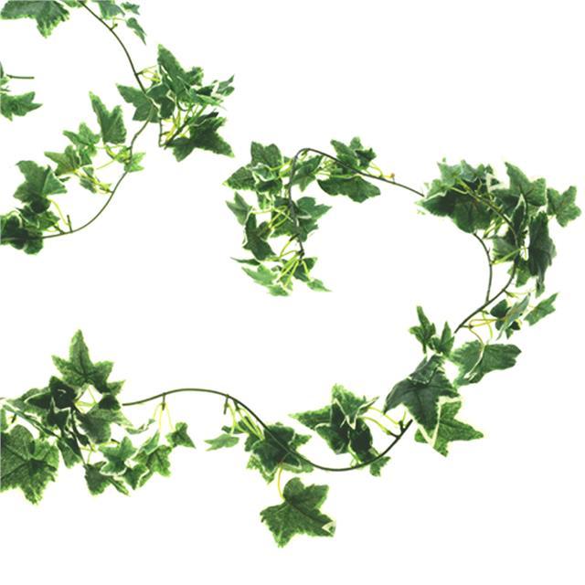 Artificial Silk Ivy Garland 180cm Variegated Green