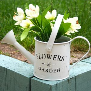 decorative-watering-can-flower-garden-white