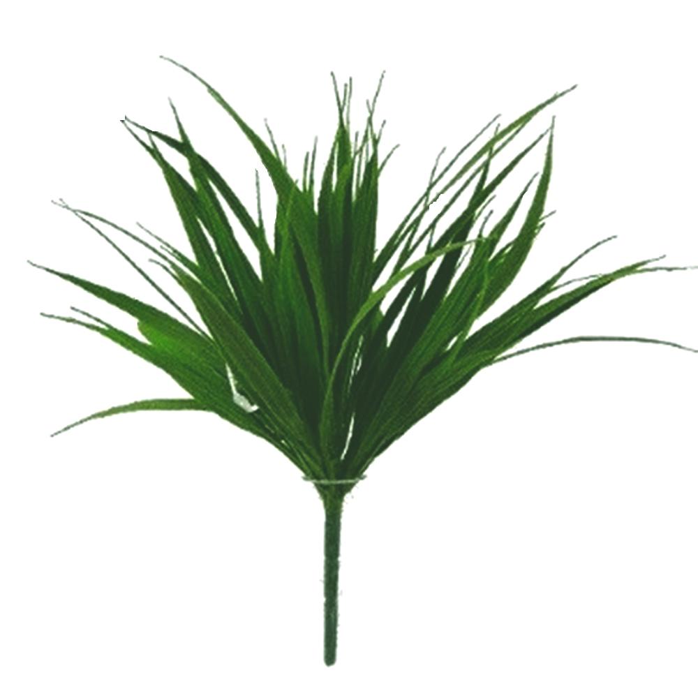 Artificial Sword Grass Decorative Plant Green Shelf Edge