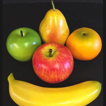 Artificial Fruit in Mesh Bag 5 Pieces