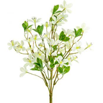 Artificial Plum Blossom Spray Cream