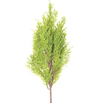 54cm Light Green Artificial Cedar Tree