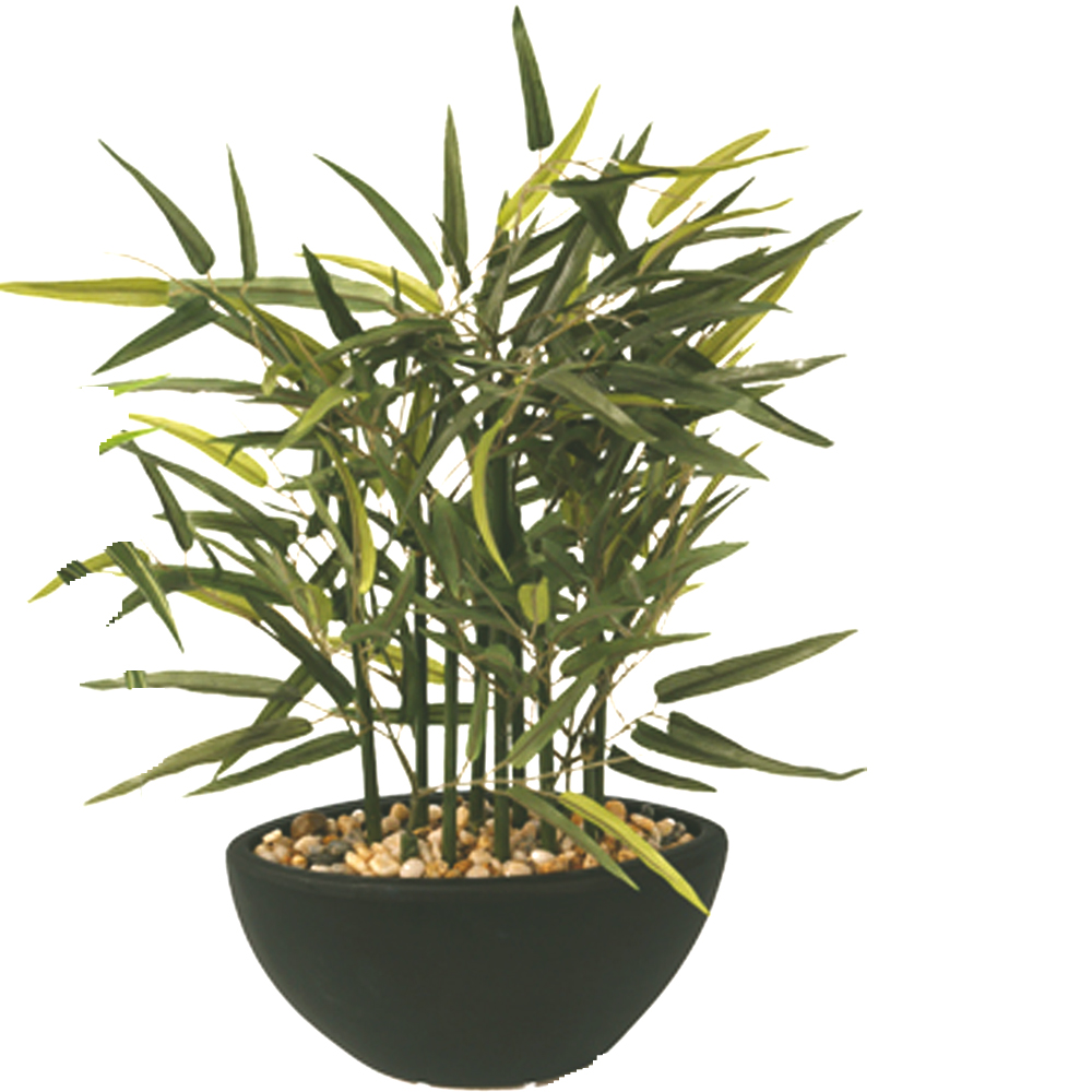 Artificial Fax Potted Bamboo Plant