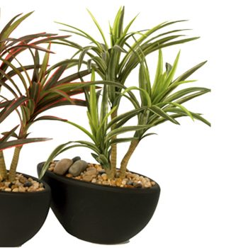 Artificial Yucca PLant Green Leaves