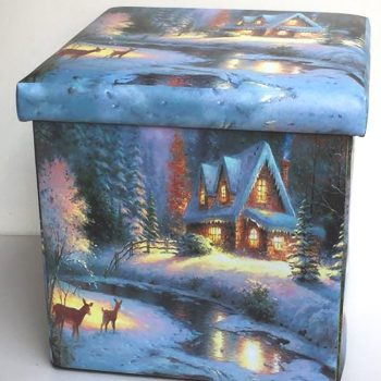House with Deer Storge Box
