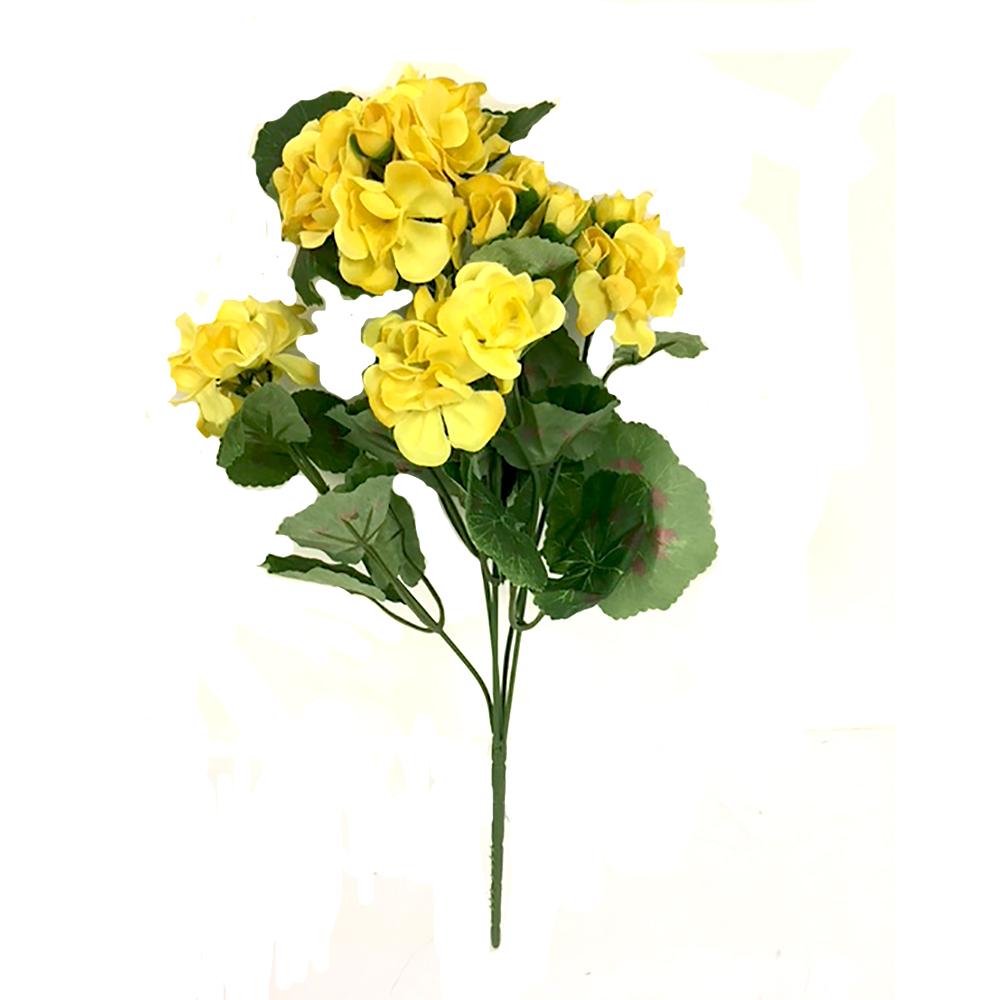 36cm artificial yellow geranium plant shelf edge 36cm artificial yellow geranium plant mightylinksfo