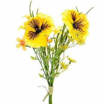 Pansy Wild Flower Bundle Yellow