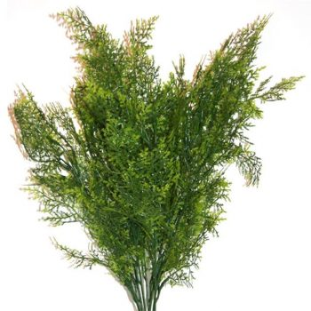 Light Green Artificial Cedar Tree