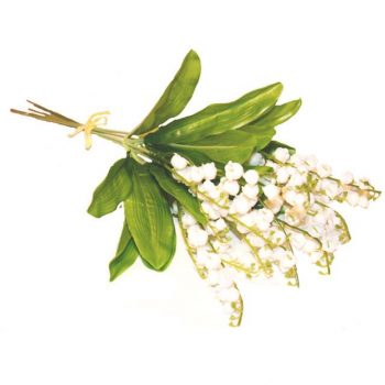 Artificial Lily of the Valley Flower Bundle