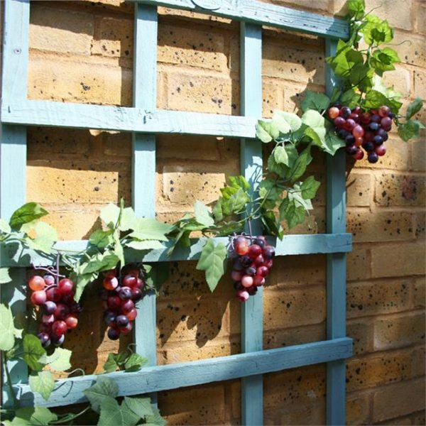 artificial grape garland