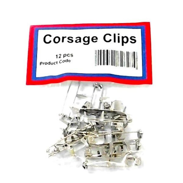 12 pack of corsage clips