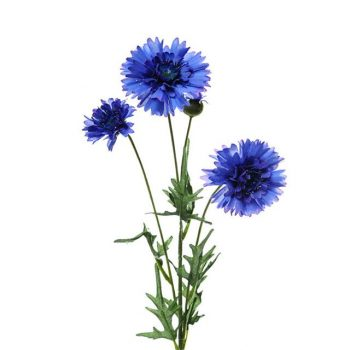 Artificial Blue Cornflower Spray