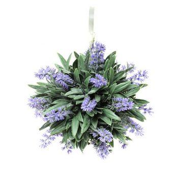 Artificial Lavender Ball