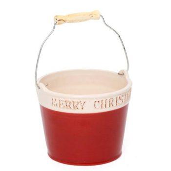 Merry Christmas Plant Pot