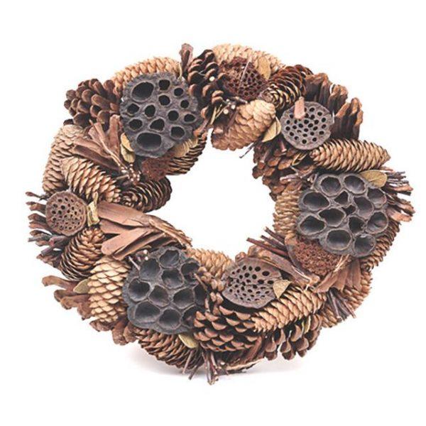 Rustic Festive Wreath