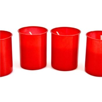 Red Grave Candle - Pack of 4