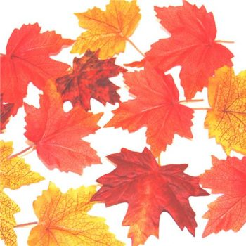 Artificial Fabric Autumn Maple Leaves