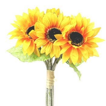 Artificial Large Sunflower Bundle