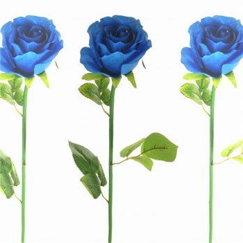 artificial blue rose stem
