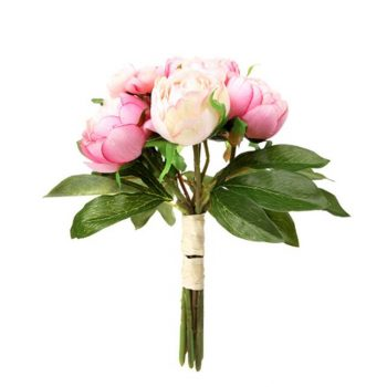 Artificial Peony Bundle Bouquet
