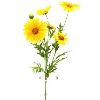 Artificial Yellow Daisy Spray