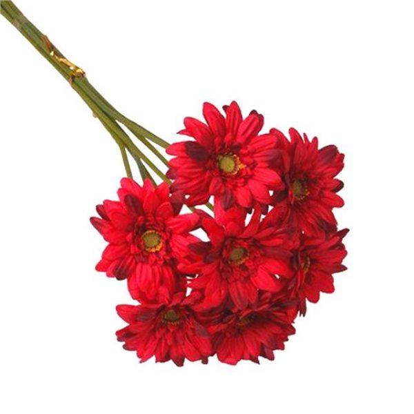 Artificial Red Gerbera Bundle
