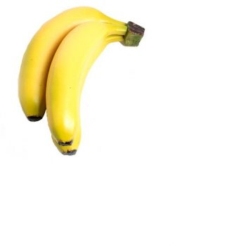 bunch of three artificial bananas