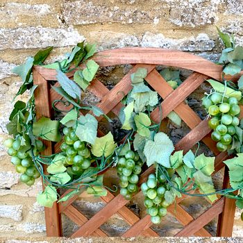 rtificial Grape Garland Green Grapes