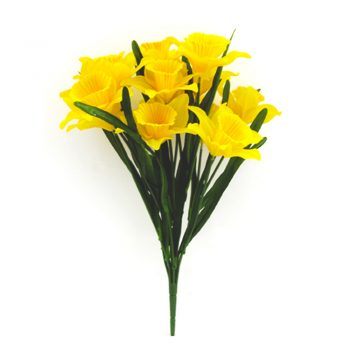 artificial daffodil bunch