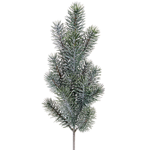 Christmas Sprays Uk.50cm Artificial Christmas Spruce Spray Frosted