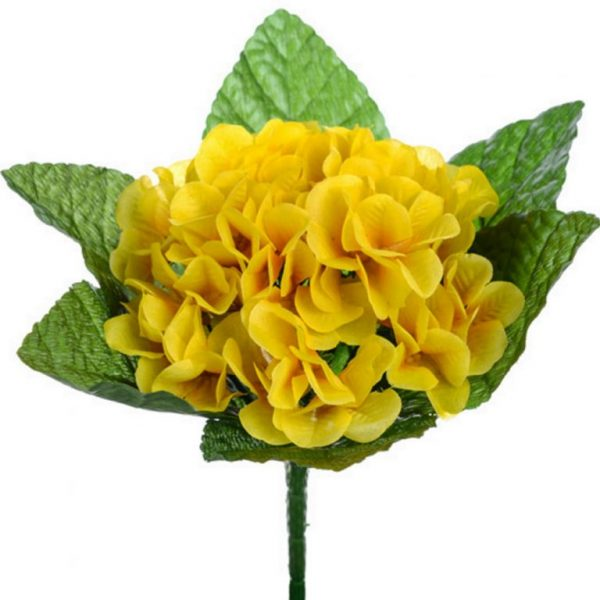 Artificial Yellow Primrose Bush