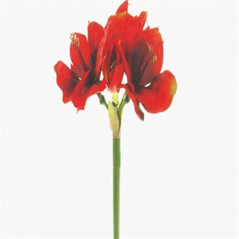 Artificial Silk Amaryllis Christmas Flower
