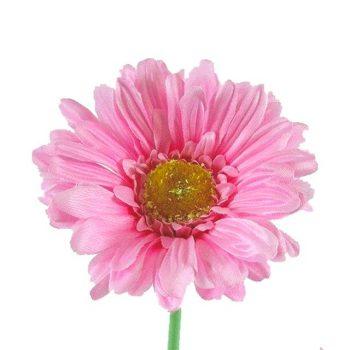 Artificial Baby Pink Gerbera