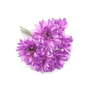 Artificial Purple Gerbera Bundle