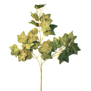 Artificial Flocked Ivy Spray - 60cm