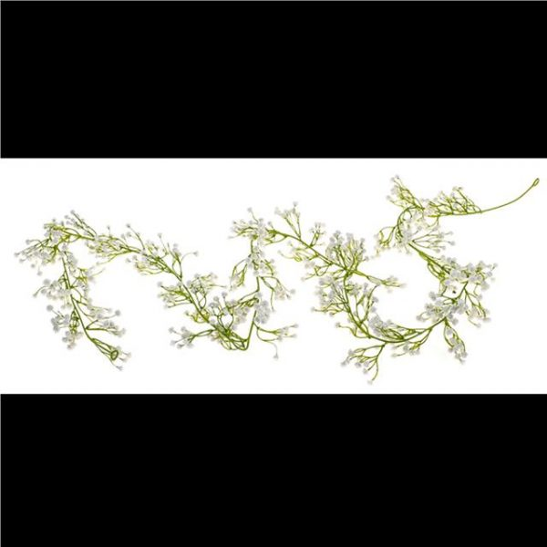 artificial gypsophila garland