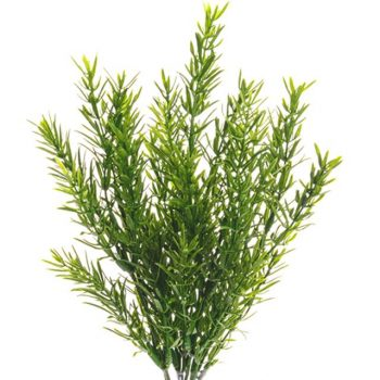 green artificial rosemary bush