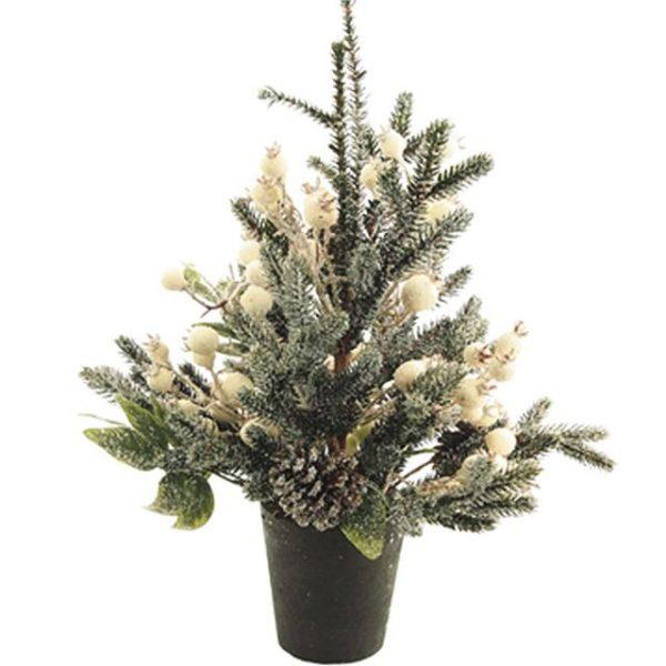 Christmas Winterberry Fern Table Tree