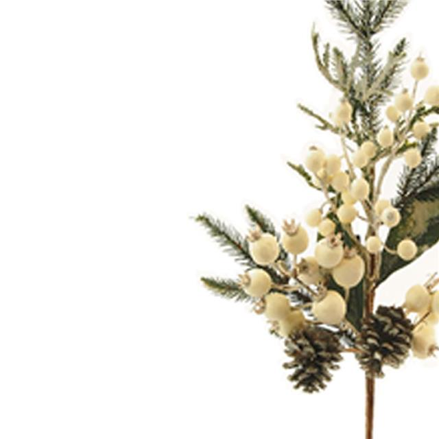 Artificial Frosted Spruce Spray Decorative Christmas Foliage