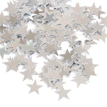 Silver Stars Table Confetti