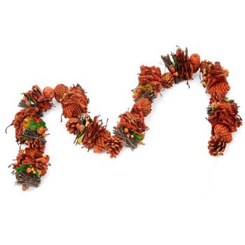 artificial Christmas rustic garland
