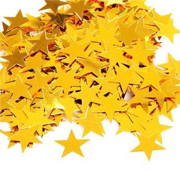 Gold Stars Table Confetti