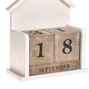 Wooden Aspen Perpetual Calendar