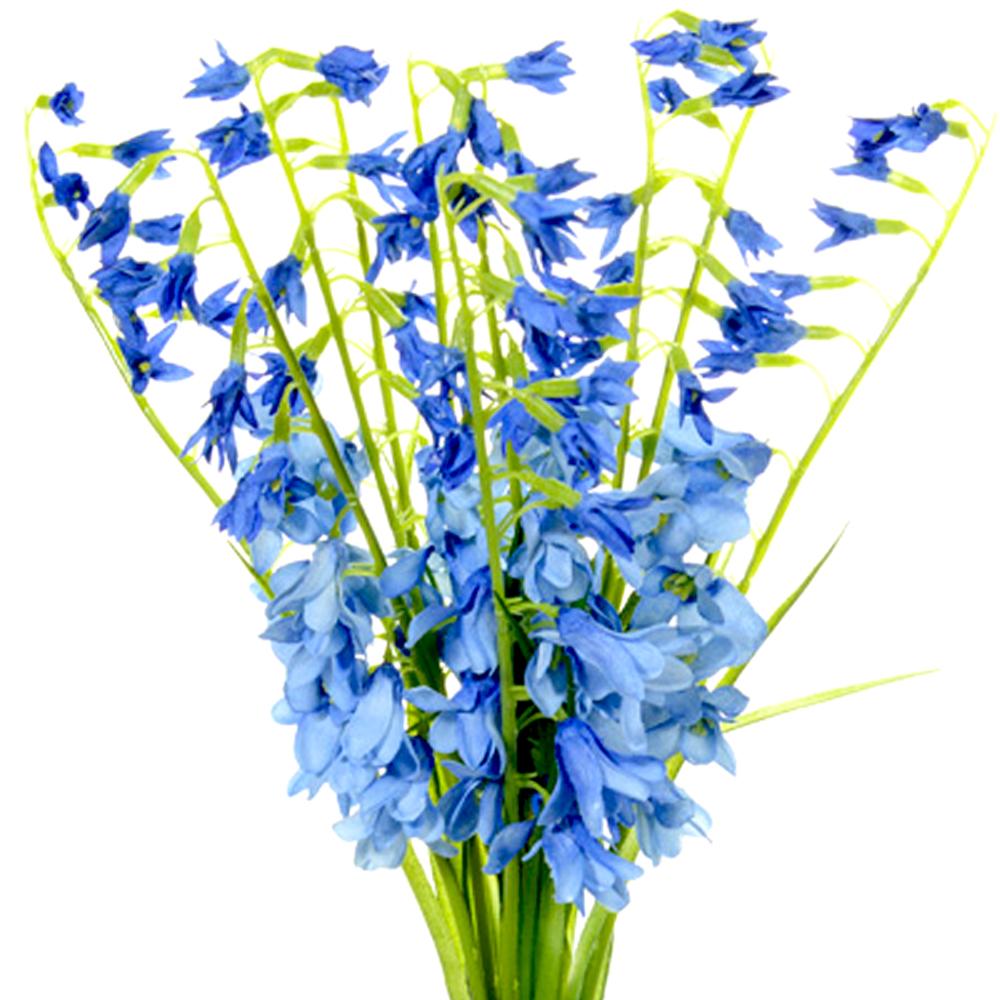 Fake Bluebells Realistic Artificial Spring Bundle